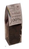 Pralinhuset - Chokladknappar - 100% Kakao