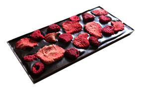 Pralinhuset - 70% Kakao - Hallon & Jordgubb