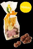 Pralinhusets Små Chokladägg - Ljus Choklad - Mjölkfri