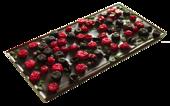 Pralinhuset - 70% Kakao - Röda och Svarta Vinbär & Mint