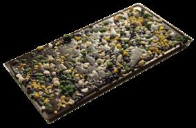 Pralinhuset - 70% Kakao - Acacia, Jasmin, Viol & Mint