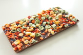 Pralinhusets - 40% Kakao – Bönor, Majs, Paprika & Viol