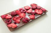 Pralinhusets - 40% Kakao – Jordgubb & Hallon