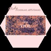 Pralinhuset - Ruby choklad - Viol