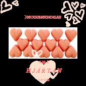 Pralinhuset - Small Hearts - Jordgubbschoklad