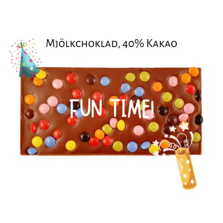 Pralinhuset - 40% Kakao - Fun Time -