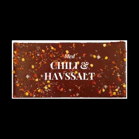 Pralinhuset - 70% Kakao - Chili & Havssalt - Mörk Choklad