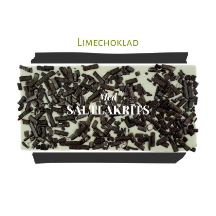 Pralinhuset - Limechoklad - Saltlakrits -