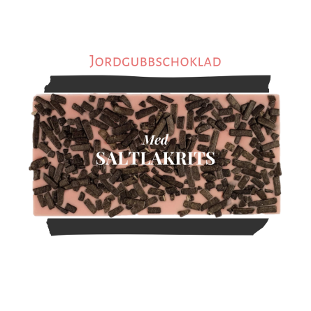 Pralinhuset - Jordgubbs Choklad - Lakrits - Vanlig