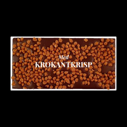 Pralinhuset - 70% Kakao - Krokantkrisp - Mörk Choklad