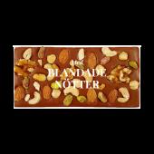 Pralinhusets - 40% Kakao - Blandade Nötter