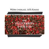 Pralinhuset - 70% Kakao - Lakrits & Hallon
