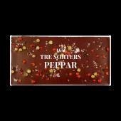 Pralinhuset - 70% Kakao - Tre Sorters Peppar