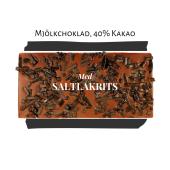 Pralinhuset - 40% Mjölkchoklad - Saltlakrits