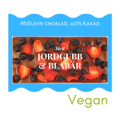 Pralinhuset - 40% Kakao - Jordgubb & Blåbär - Mjölkfri