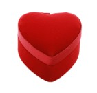 Rött Sidenhjärta – En Bits Ask