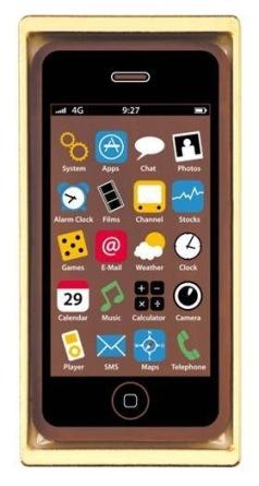 Smartphone Svart - Ljus Choklad