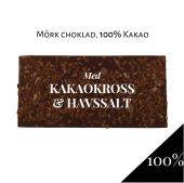 Pralinhuset - 100% Kakao - Kakaokross & Havssalt