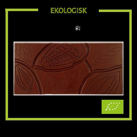Pralinhuset - Ekologisk 61% Kakao - Ren -
