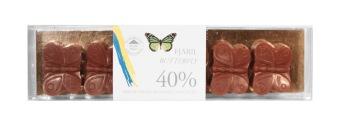 Pralinhuset - Fjärilar - 40% Kakao - Liten