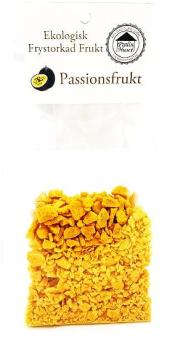 Frystorkad Frukt – Passionsfrukt 40g -