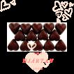 Pralinhuset - Small Hearts - 70% Kakao - Mörk Choklad