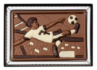 Fotbollsspelare - Ljus Choklad