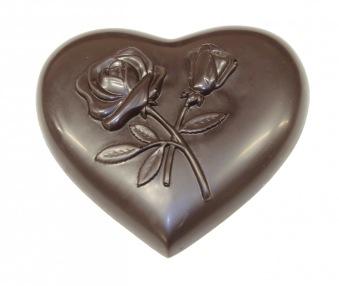Chokladhjärta - 70% Kakao - Mörk Choklad