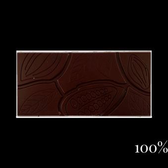 Pralinhuset - 100% Kakao - Ren - Mörk Choklad