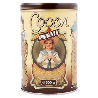 Van Houten - 100% Kakaopulver - Plåtburk 500g - Van Houten