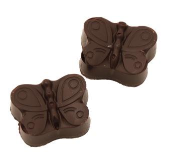 Pralinhuset - Fjärilar - 70% Kakao - Mörk Choklad