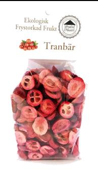 Frystorkad Frukt – Tranbär 25g -