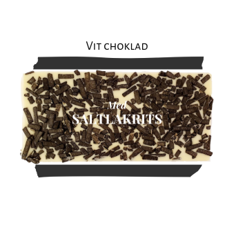 Pralinhuset - Vit Choklad - Lakrits -