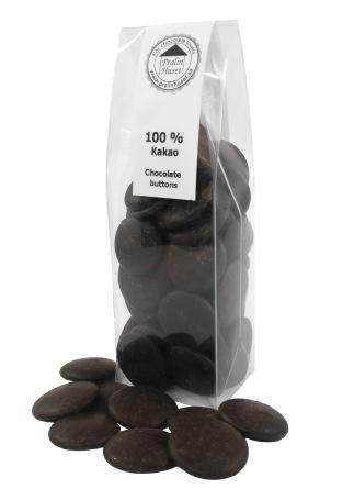 Pralinhuset - Chokladknappar - 100% Kakao - Ren Kakao