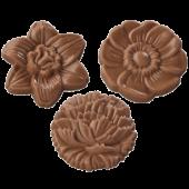 Pralinhuset - Choco Snacks - Chokladblommor Ljus