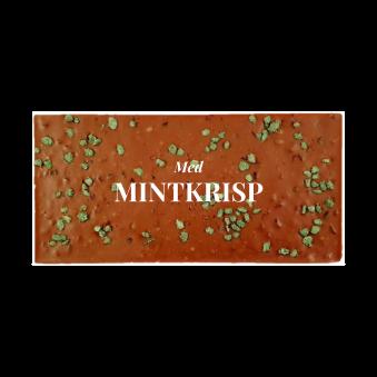 Pralinhuset - 40% Mjölkchoklad - Mintkrisp -