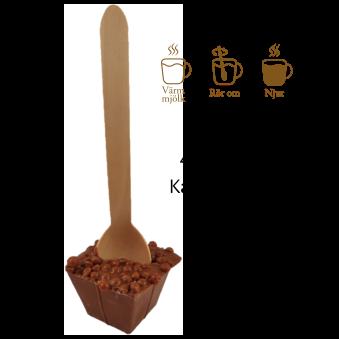 Pralinhuset - Drickchoklad - 40% Kakao - Krokantkrisp -
