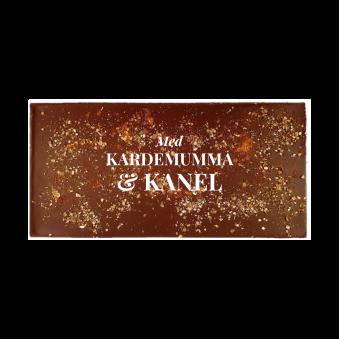 Pralinhuset - 70% Kakao - Kardemumma & Kanel - Mörk Choklad