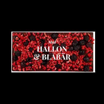 Pralinhuset - 70% Kakao - Hallon & Blåbär - Mörk Choklad