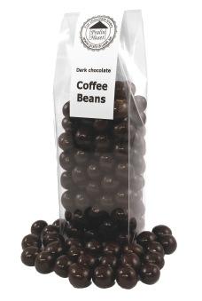 Pralinhuset - Kaffebönor i Mörk Choklad - Mörk Choklad