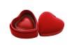 Rött Sidenhjärta – En Bits Ask - Vanlig