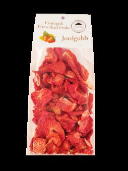 Frystorkad Frukt – Jordgubbar 25g -