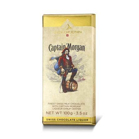 Likörchokladkaka - Captain Morgan - Romfylld Choklad -