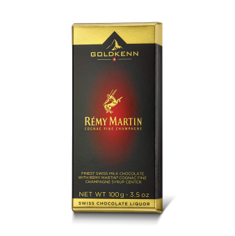 Likörchokladkaka - Rémy Martin - Congnacfylld Choklad - Vanlig