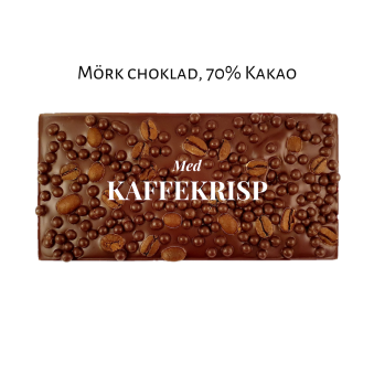 Pralinhuset - 70% Kakao - Kaffekrisp -