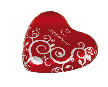 Hjärta - Mjölkchoklad - 22 Gram -