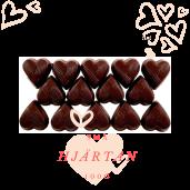 Pralinhuset - Small Hearts - 70% Kakao