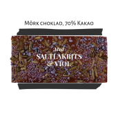 Pralinhuset - 70% Kakao - Saltlakrits & Viol