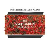 Pralinhuset - 40% Kakao - Hallon & Lakrits