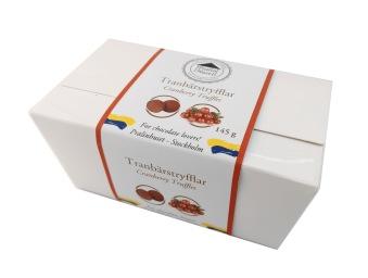 Pralinask - Tranbärstryfflar - 145 gram -